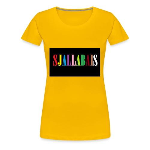 Sjallbais - Premium T-skjorte for kvinner
