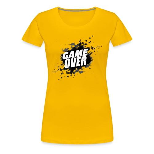 game over - Camiseta premium mujer