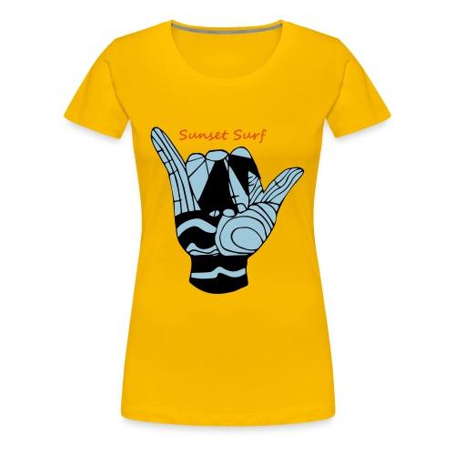 Shaka Surf - Frauen Premium T-Shirt