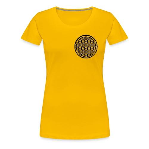 Blume des Lebens - Frauen Premium T-Shirt