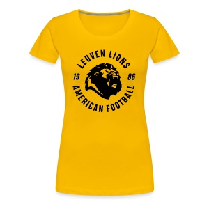 Lions old school black - Women's Premium T-Shirt
