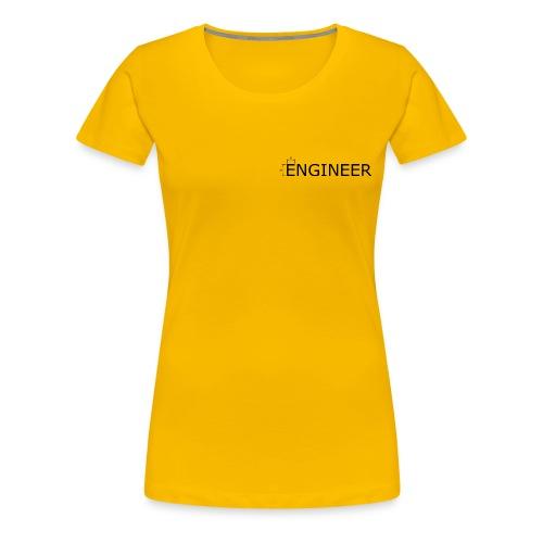 Engineer Ingenieur Konstrukteur Maschinenbau - Frauen Premium T-Shirt
