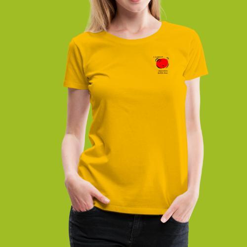 I support Operation Bobbi Bear - Vrouwen Premium T-shirt