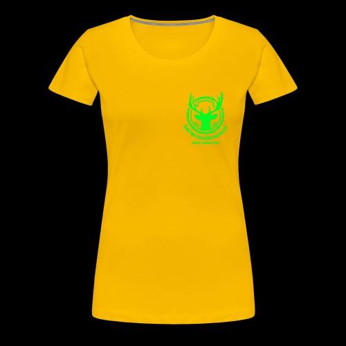 LOGO Grün - Frauen Premium T-Shirt