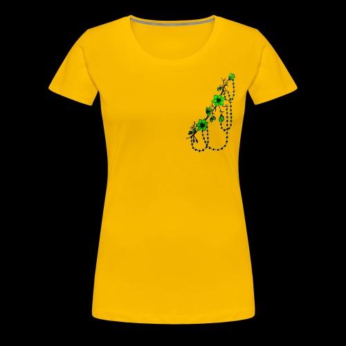 flower art - Frauen Premium T-Shirt