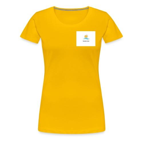 Summer time Collection - Frauen Premium T-Shirt