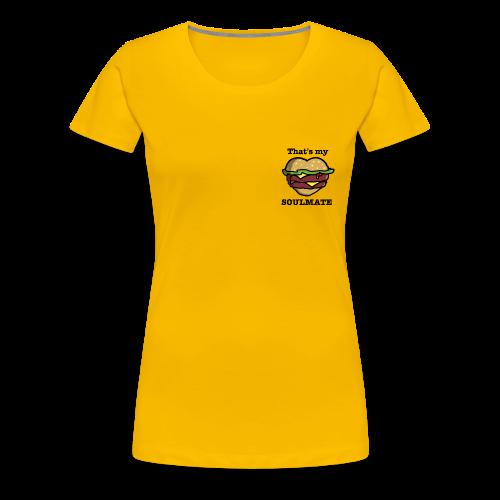 Love Food - T-shirt Premium Femme