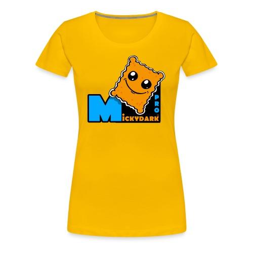 LOGO MICKYDARK PRO - T-shirt Premium Femme