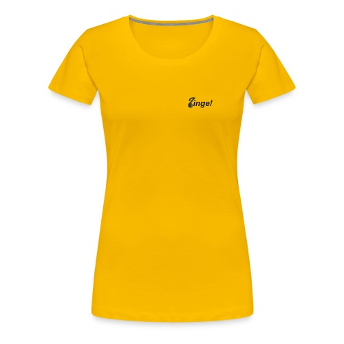 Logo Zinge! klein - Vrouwen Premium T-shirt