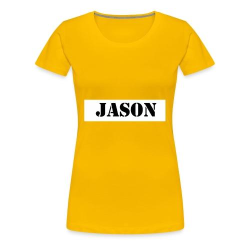 Hey ho hoffe euch gefallen die sachem - Frauen Premium T-Shirt