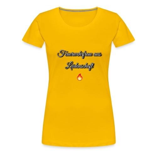 Feuerwehrfrau - Frauen Premium T-Shirt