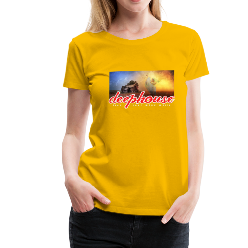 deep house - Frauen Premium T-Shirt