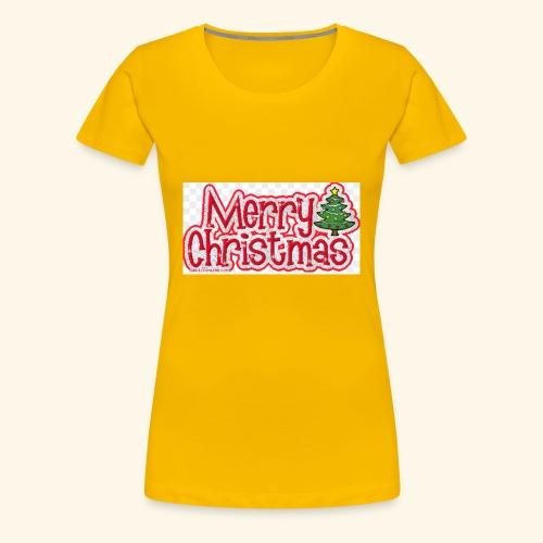Weihnachtsprodukt - Frauen Premium T-Shirt