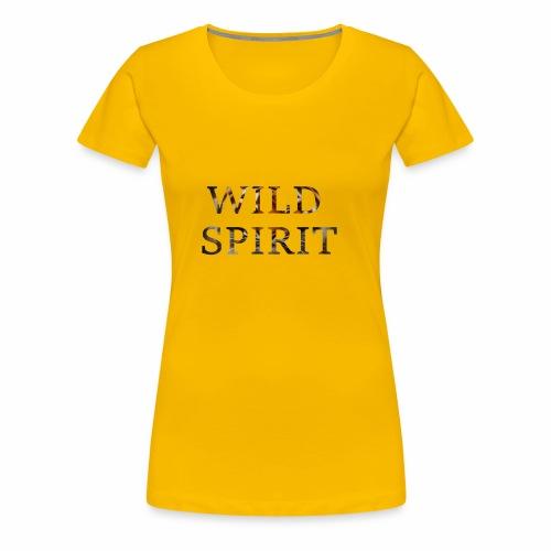 Wild Spirit - Women's Premium T-Shirt