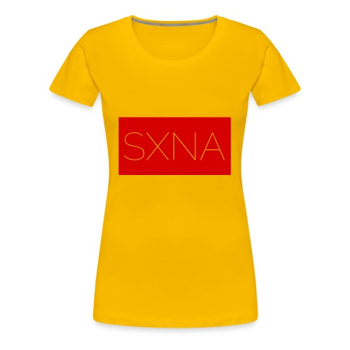 SXNA Box-Style Summer red - Frauen Premium T-Shirt