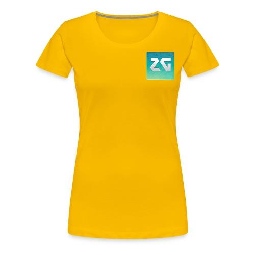 Logo zager - T-shirt Premium Femme