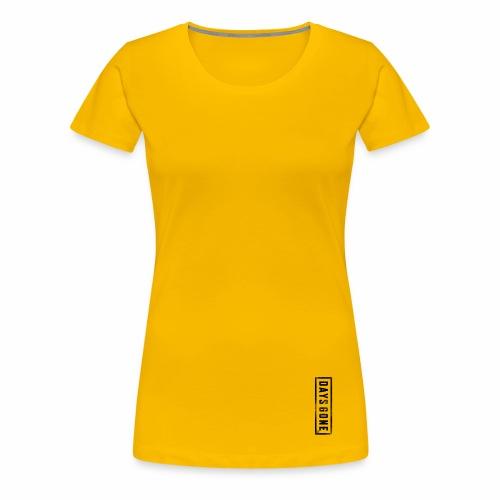 gamers daysgone - Camiseta premium mujer