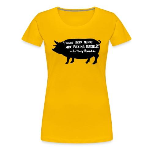 Beer Nerds - Vrouwen Premium T-shirt