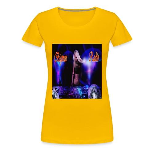 header disco neu - Frauen Premium T-Shirt