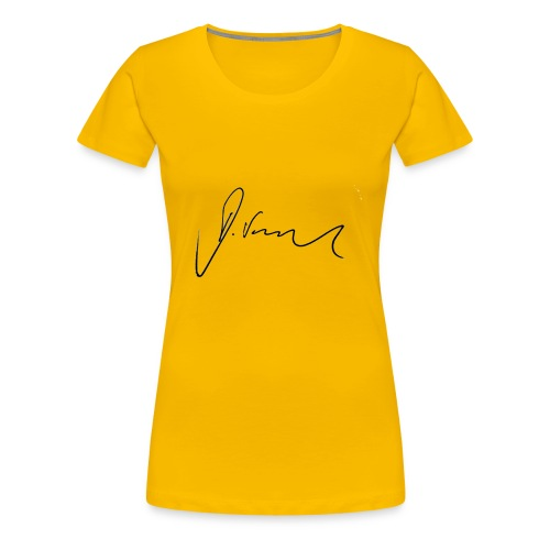 Silvie Unerschrift - Frauen Premium T-Shirt