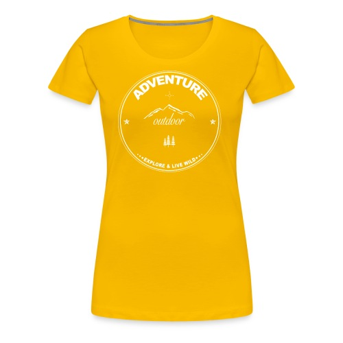 Adventure - Outdoor - Frauen Premium T-Shirt
