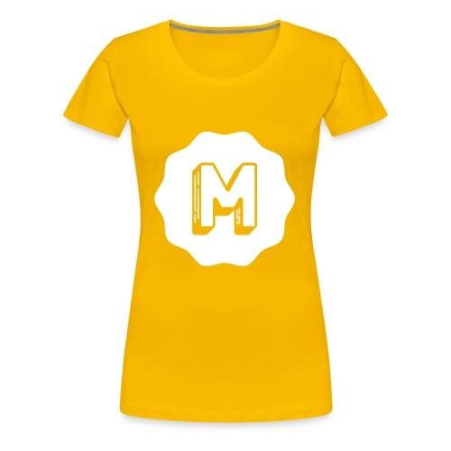 Messiosen symbol sort neg - Premium T-skjorte for kvinner