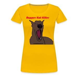 Mac Miller's Dog - Vrouwen Premium T-shirt