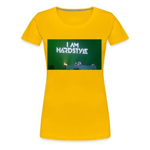 I Am Hardstyle - Frauen Premium T-Shirt