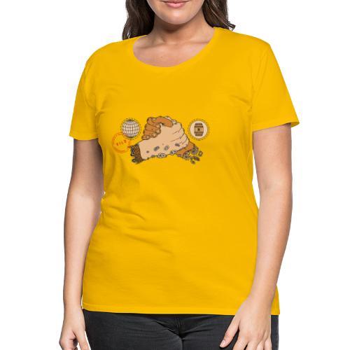 Vild Collab - Premium-T-shirt dam