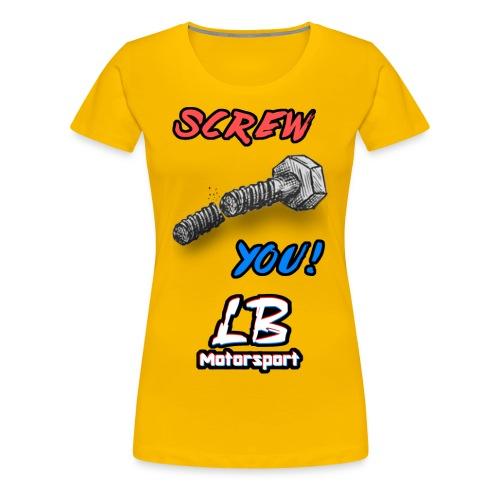 LB Motorsport-Rip it off! - Frauen Premium T-Shirt