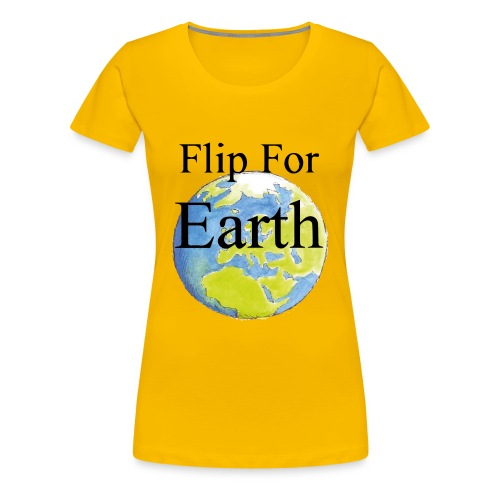 Flip For Earth T-shirt - Premium-T-shirt dam