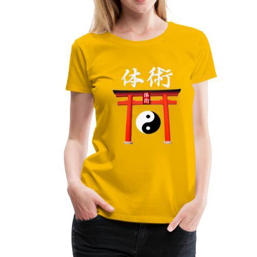 taï-jitsu - T-shirt Premium Femme