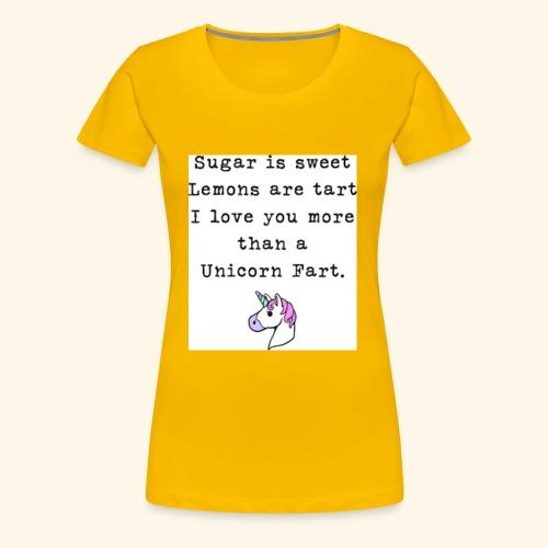 unicorn - Women's Premium T-Shirt
