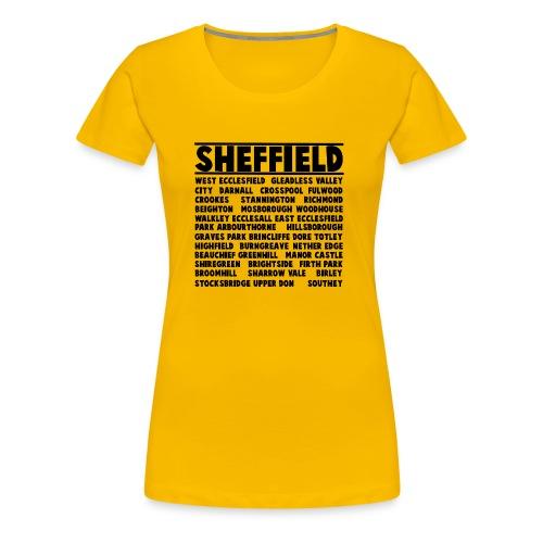 Sheffield City - Women's Premium T-Shirt