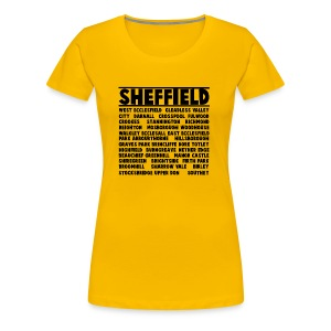 Sheffield City - Women's Premium T-Shirt