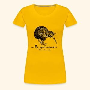 Le kiwi est mon animal totem. - T-shirt Premium Femme