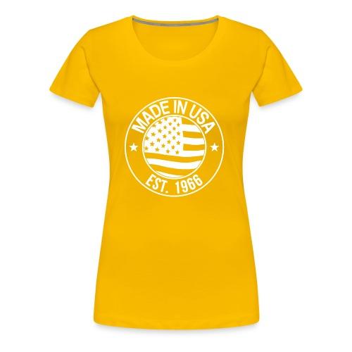Made in usa - Frauen Premium T-Shirt