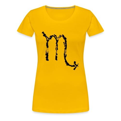 Sternzeichen: Skorpion - Frauen Premium T-Shirt