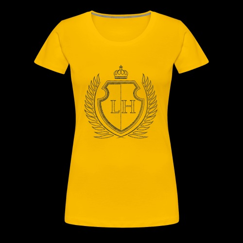Leistungshunger Basic Grey - Frauen Premium T-Shirt