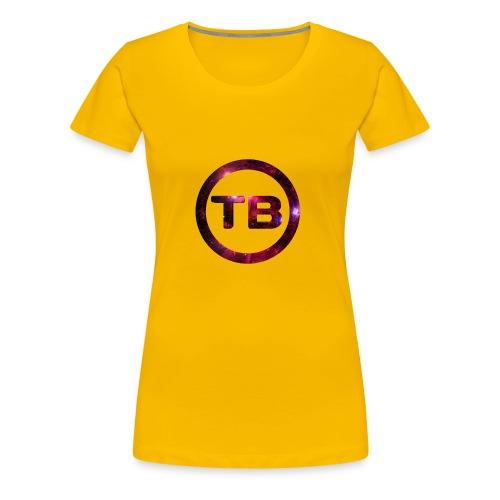 team backfull - Vrouwen Premium T-shirt
