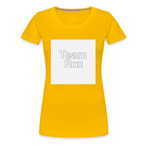 TEAM ROX mouse pads - Women's Premium T-Shirt