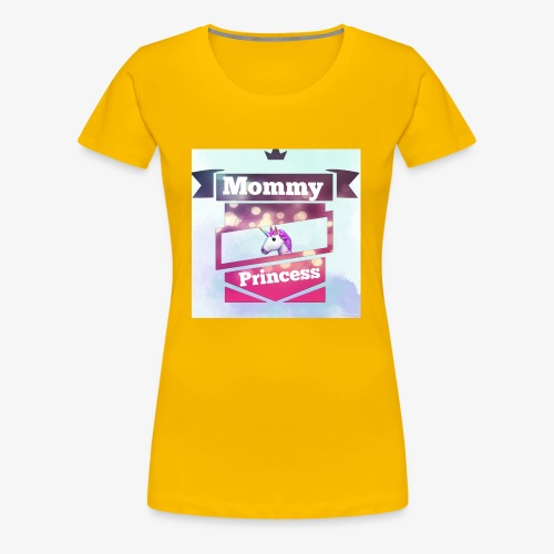 Mommy & Princess - Frauen Premium T-Shirt