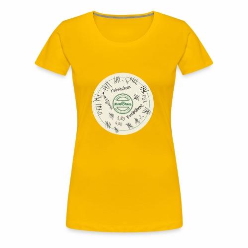 Der Bierdeckel - Frauen Premium T-Shirt