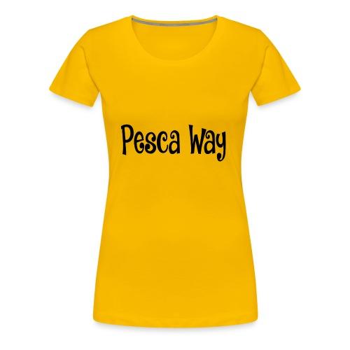 Pesca Way Collection N°2 - Maglietta Premium da donna