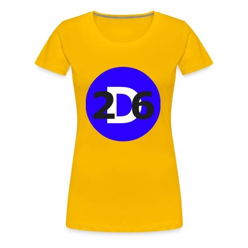 Dommie 26 original logo - Women's Premium T-Shirt