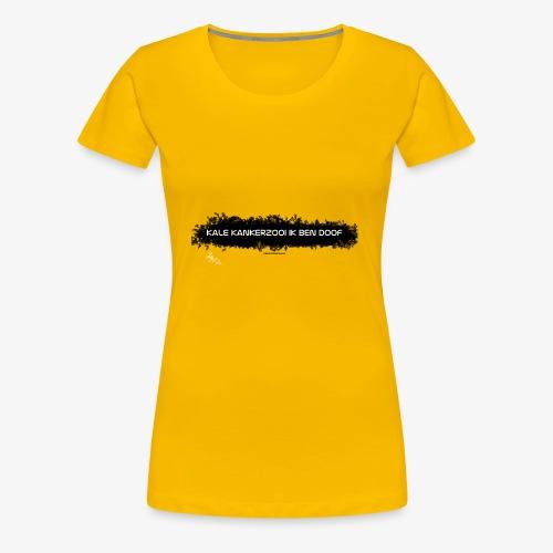 ik zit aan de pille - Vrouwen Premium T-shirt
