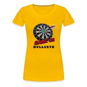 Darts Bullseye Game on - Vrouwen Premium T-shirt