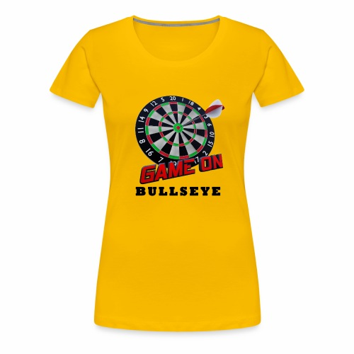 Darts Bullseye Game on - Vrouwen Premium T-shirt