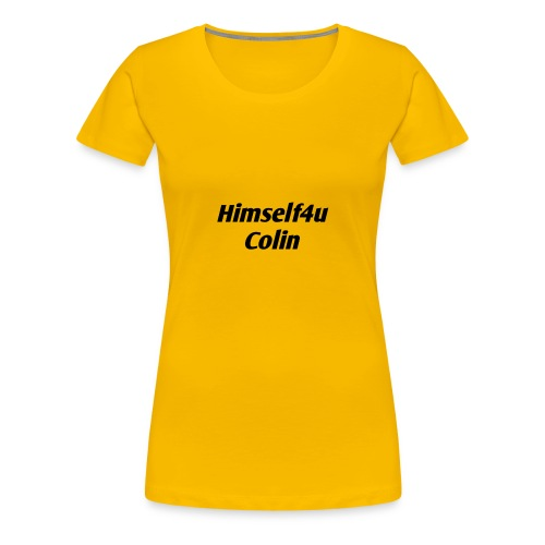 Colin - Frauen Premium T-Shirt