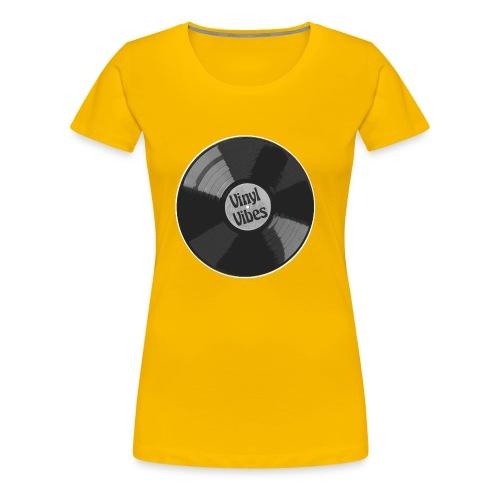 Vinyl Vibes - Frauen Premium T-Shirt